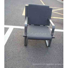 One Seater Outdoor PE Rattan Cushion Furniture Chair