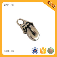 MZP66 Metal zipper puller,Custom zipper pulls,Metal zipper slider for garment