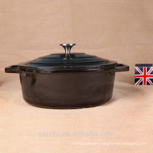 China wholesale non-stick cookware cooking pot black
