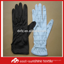 custom logo printed microfiber jewelry gloves watch gloves