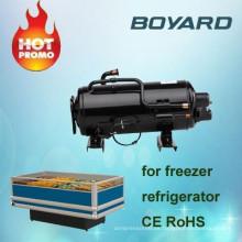 CE ROHS 0,5 hp 3 hp miniatura refrigreator congelador compresor r22 r404a para frío de la habitación congelador del refrigerador móvil
