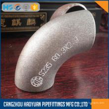 EN10253-1 бесшовные трубы из нержавеющей локтей 3D