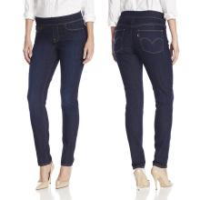Pantalones ajustados ajustados rectos de señora Fashion Leisure