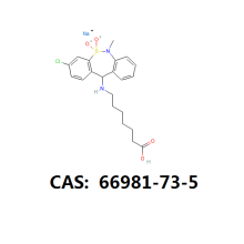 Wholesale Price for Psychiatric Pharmceutical Tianeptine intermediate cas 66981-73-5 cas 1224690-84-9 supply to Haiti Suppliers