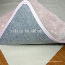 almohadilla antideslizante impermeable hecha a máquina de la máquina