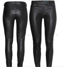 Hot Sale Sexy Fashion Women Skinny Women Leather Leggings