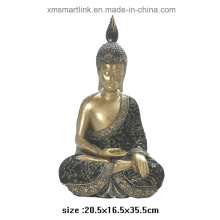 Statua del Buddha di Figurine di Polyresin