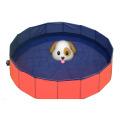 Piscina dobrável dobrável para cães de estimação 80/120 / 160cm