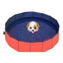 Piscina plegable plegable para perros de 80/120 / 160cm