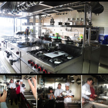 Luxus-Edelstahl-italienische Küchengeräte