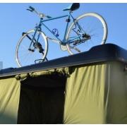 Hard Shell Camper Trailer Rooftop tienda con estante