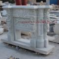 Chimenea de mármol blanco para decoración interior (SY-MF001)