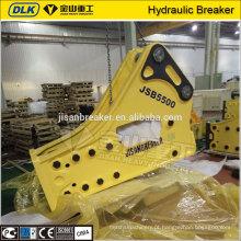 martelo hidráulico soosan pesado do disjuntor da rocha da máquina da construção para a máquina escavadora 50-60t