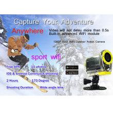 SJ4000 WIFI cámara de acción de conducción bajo el agua 30M cámara impermeable 1080P Full HD GoPro cámara digital de estilo
