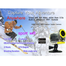 SJ4000 WIFI Action Camera Driving Underwater 30M Caméra étanche Caméra numérique style 1080P Full HD GoPro