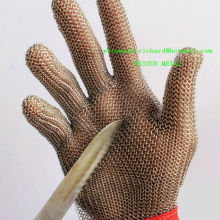 Factory Ring Mesh Meat Processing Gloves