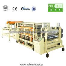 PVC/ASA manual roof tile making machine