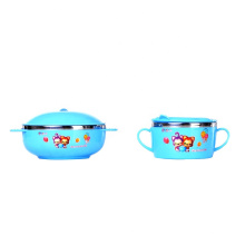 Chinese factory direct stainless steel tableware children bowl set for food feeding