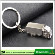 Logo personnalisé camion métal porte-clés à vendre