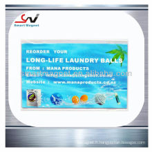 Papier bon marché Magnets publicitaires pour réfrigérateur