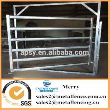 горячая окунутая оцинкованная коррал верховая забор металлический столб животноводческой фермы забор панель