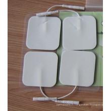Tampons auto-adhésifs anti-douleur en tissu blanc