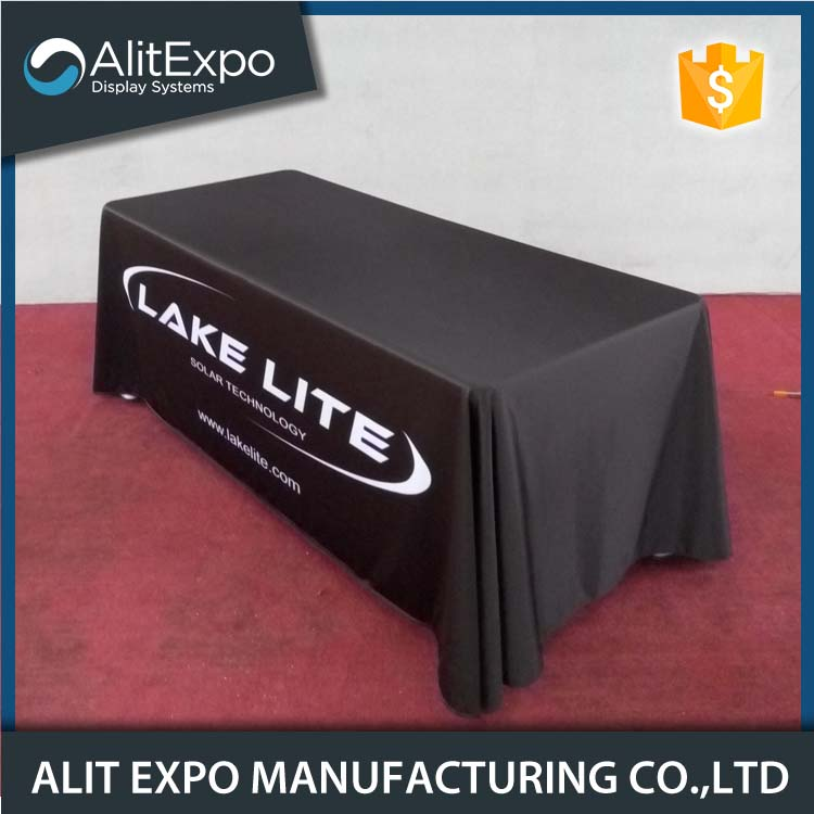 Dye Sublimation tension fabric exhibition table cover