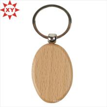 L'usine offre directement un porte-clés en bois pour la promotion