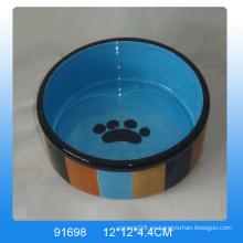 2016 Lovely cerámica pet bowl