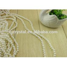 Perlas de perlas de vidrio redondo de 12mm