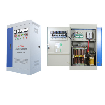 SBW 120KVA 100KW Three Phase AVR Automatic Voltage Regulator Stabilizers With CE