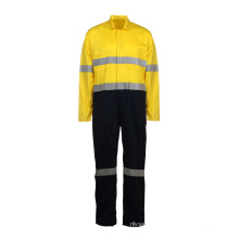 100% Cotton Fabric Reflective Safety Overall