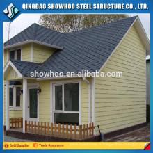 construction rapide et facile bâtiment de deux étages préfab en acier cadre