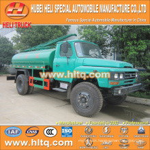 DONGFENG 4x2 6000L suction fecal truck 140hp cheap price