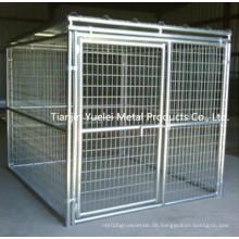Bester Qualitätshundekäfig / quadratischer Schlauch-Hundekäfig / Spitzenklassen-kleiner Hundekäfig / schwerer faltender Metallgroßer Haustier-Hundekäfig