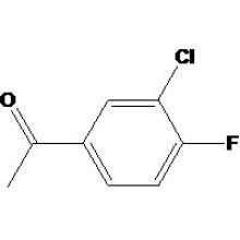 3'-Chlor-4'-fluoracetophenon CAS-Nr .: 2923-66-2