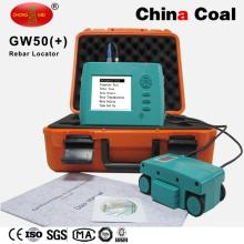 Equipo de escaneo concreto Gw-50 Rebar Locator Scanner Detector Meter