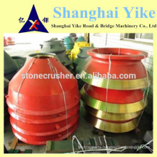 cone Crusher Parts concave manufacture in China