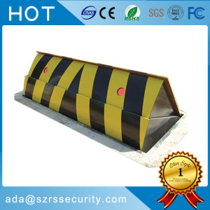 retractable roadway safety automatic security blocker