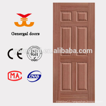 Unfinished thermal insulation PU foam hdf door