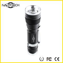 Zoomable recargable 240lm poderosa linterna (NK-630)