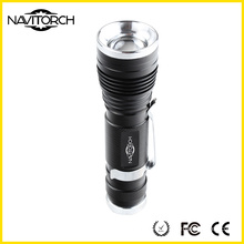 Zoomable Rechargeable 240lm Powerful Flashlight (NK-630)