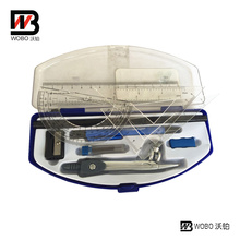 Office Stationery Set with Plastic Rulers and Pens in Box