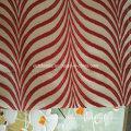 100% poliéster Shrinkage fio Jacquard cortina tecido em poço cortinas