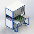 Автоматическая машина для запечатывания блистерной упаковки