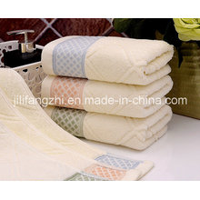 100% Baumwolle Jacquard Square Handtuch