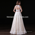 Vestidos de fiesta formales largos florales del partido de la boda del cordón de la flor del cordón del OEM