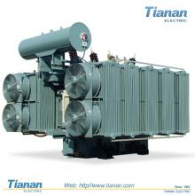 Transformateur de puissance de 170 kV, 4 à 40 MVA / rempli d'huile
