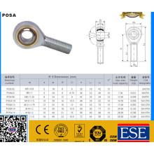Cojinete de la articulación del cojinete del extremo de la barra de alta precisión M14 / Posa14