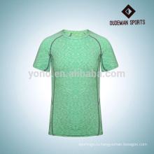 Высокое качество красочные мужчины сжатия спортивная рубашка с три цвета